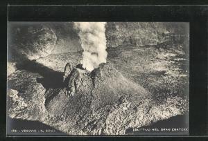 AK Vesuvio, Il Cono Eruttivo nel Gran Cratere