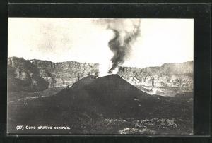 AK Vulkan, Cono eruttivo centrale