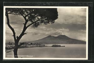 AK Napoli, Panorama e Vesuvio