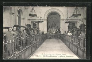 AK Paris, Hotel des Monnaies, Salle du Monnayage
