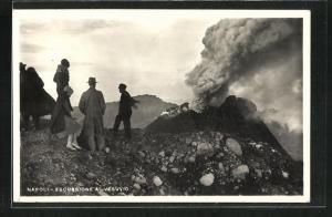 AK Napoli, Escursione al Vesuvio