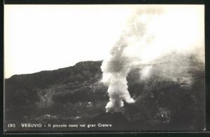 AK Vesuvio, Il piccolo cono nel gran Cratere