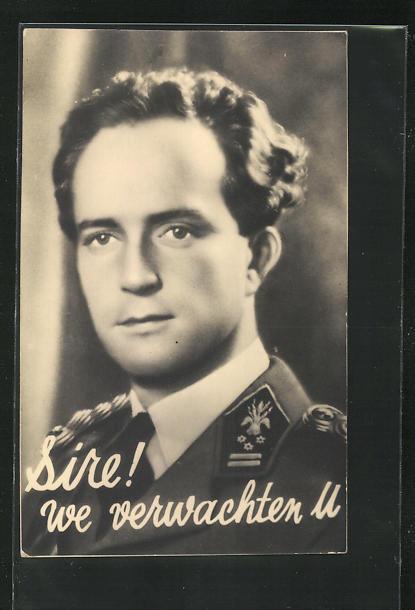 AK König Leopold III. von Belgien in Uniform 0