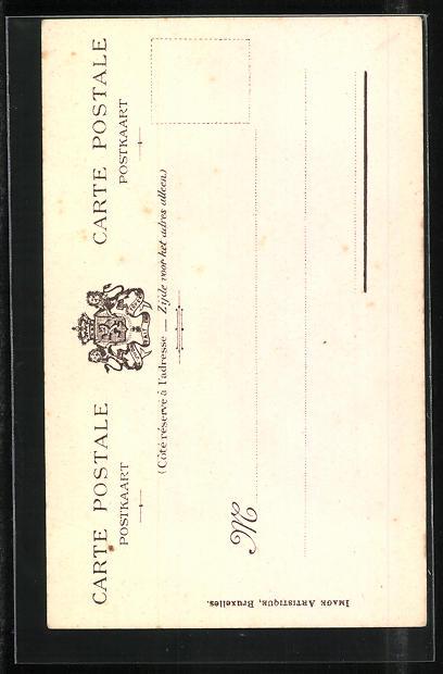 Künstler-AK La Famille Royale de Belgique 189 1