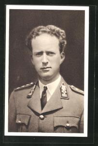 AK Le Roi Leopold III., König von Belgien in Uniform