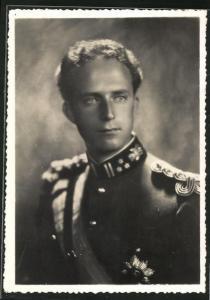 AK König Leopold III. von Belgien in Uniform