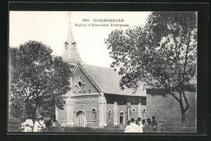 AK Alarobia Vohiposa, L`Eglise, Ansicht der Kirche