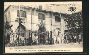 AK Majunga, Agence de la Cie des Messageries-Maritimes