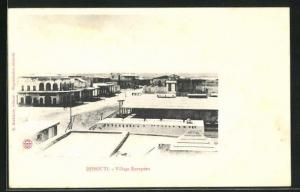AK Djibouti, Village Européen, Europ. Viertel