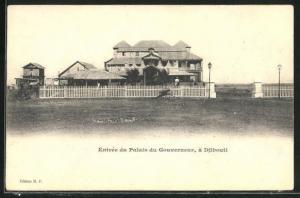 AK Djibouti, Entrée du Palais Gouverneur