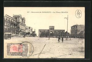 AK Djibouti, La Place Ménélik, Ortspartie