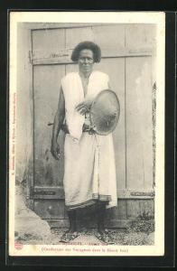AK Djibouti, Abban Issa, Conducteur des Voyageurs dans le Désert Issa, Führer, Expedition