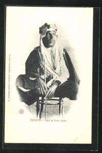 AK Djibouti, Chef de Tribu Arabe, Araberoberhaupt