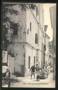 AK Zanzibar, Partie im Ort