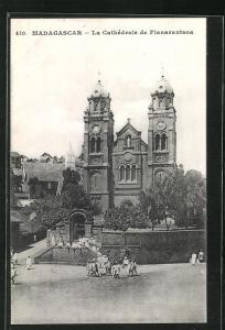 AK Fianarantsoa, La Cathédrale, Kirche