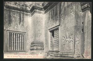 AK Angkor-Vat, Mur du portique de la tour centrale