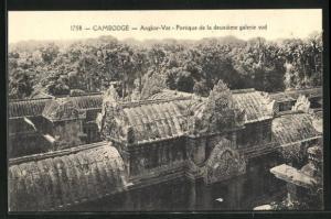 AK Angkor-Vat, Portique de la deuxieme galerie sud