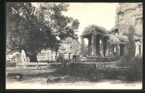 AK Angkor-Vat, Peristyle de la Tour centrale, Enceinte exterieure