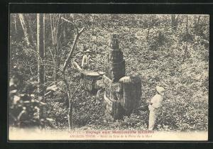 AK Angkor-Thom, Motif de faite de la Porte de la Mort