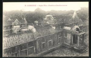 AK Angkor-Wat, Premiere et deuxieme terrasse