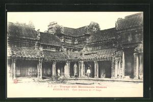 AK Angkor-Wat, Cour interieure du 1er Etage