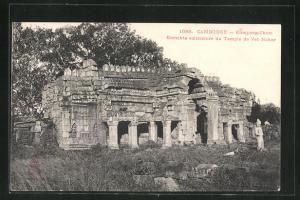 AK Kompong-Cham, Enceinte exterieure du Temple de Vat-Nokor