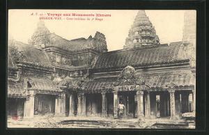 AK Angkor-Wat, Cour interieur du 3e Etage