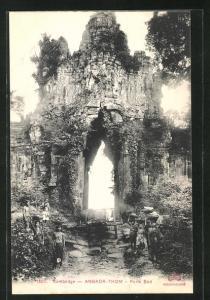 AK Angkor-Thom, Porte Sud