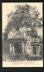 AK Angkor-Thom, Tour de gauche inachevée du Prasat-Keo