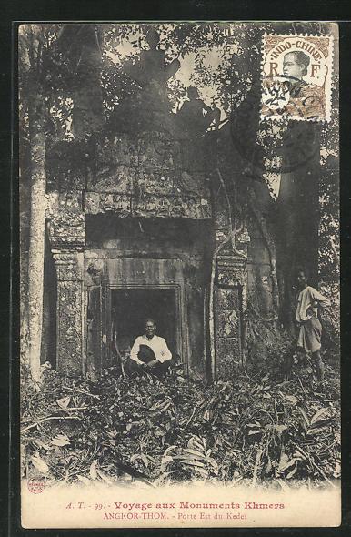 AK Angkor-Thom, Porte Est du Kedei 0