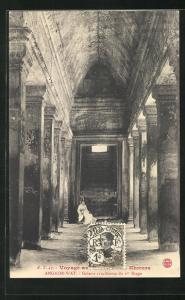 AK Angkor-Wat, Galerie cruciforme du Ier Etage