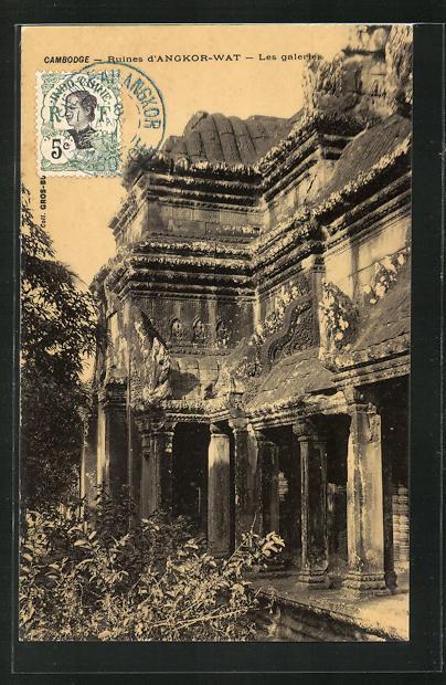 AK Angkor-Wat, Les Galeries 0