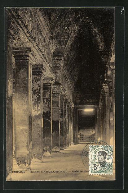 AK Angkor-Wat, Ruinengalerie 0