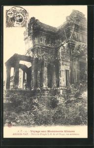AK Angkor-Wat, Pérstyle d`angle S.-O. du Ier Étage...
