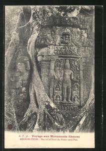 AK Angkor-Thom, Bas-relief Nord du Prasat-neak-Pon