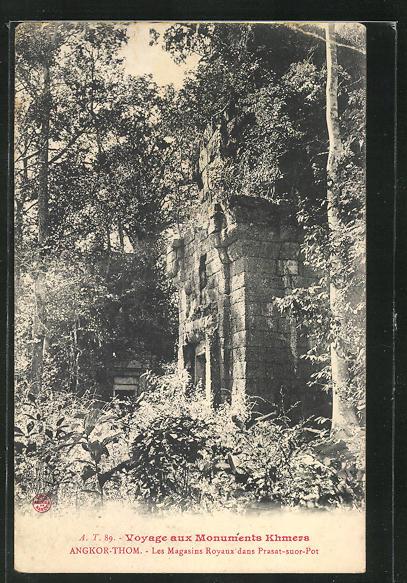 AK Angkor-Thom, Les Magasins Royaux dans Prasat-suor-Pot 0