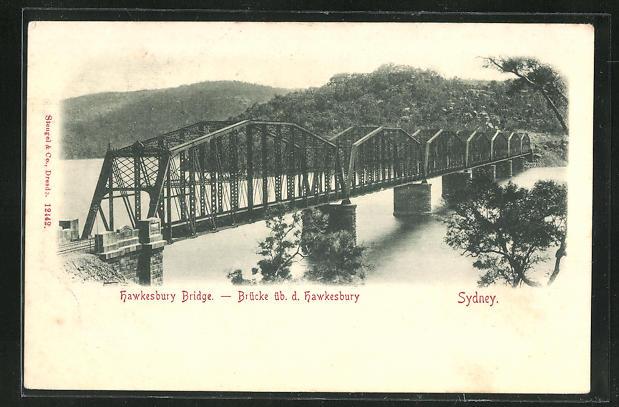 AK Sydney, Hawkesbury Bridge, Brücke 0