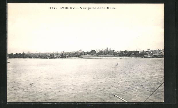AK Sydney, Vue prise de la Rade 0