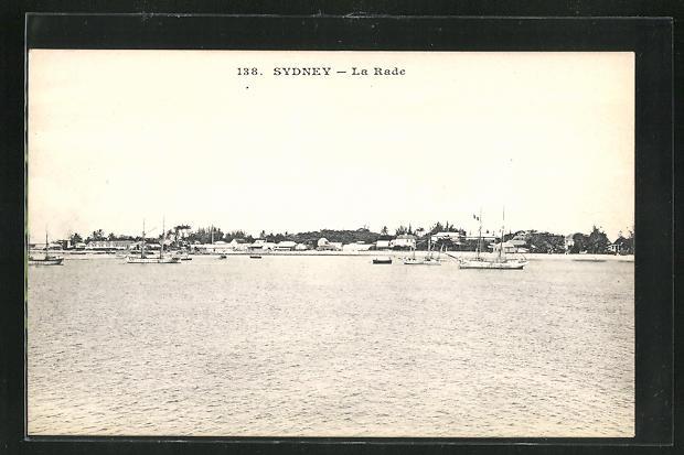 AK Sydney, La Rade, Die Reede 0