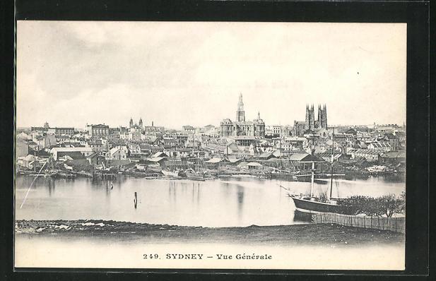 AK Sydney, Totale der Stadt 0