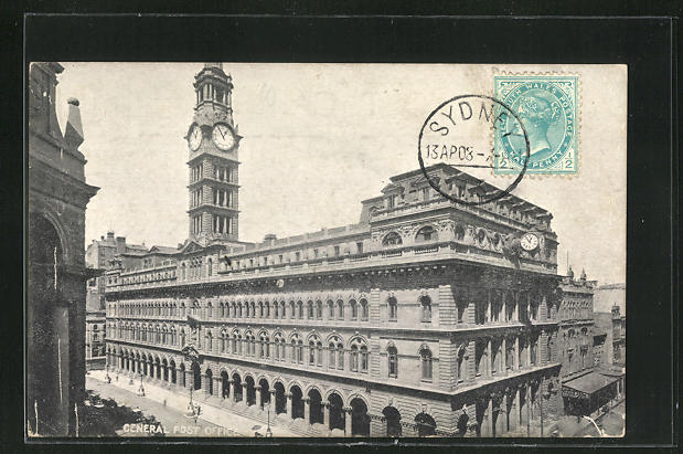 AK Sydney, General Post Office 0