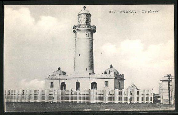 AK Sydney, Le phare, Leuchtturm 0