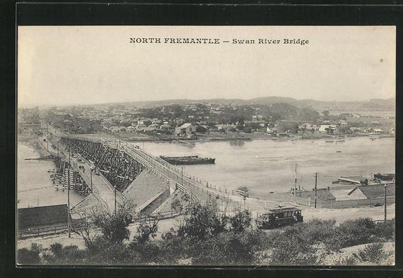 AK North Fremantle, Swan River Bridge, Brücke 0
