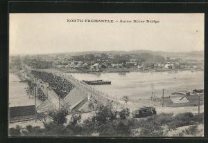 AK North Fremantle, Swan River Bridge, Brücke
