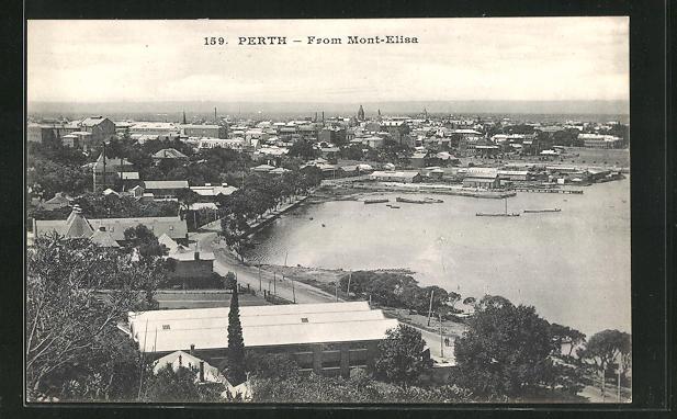 AK Perth, From Mont-Elisa, Hafenpanorama 0