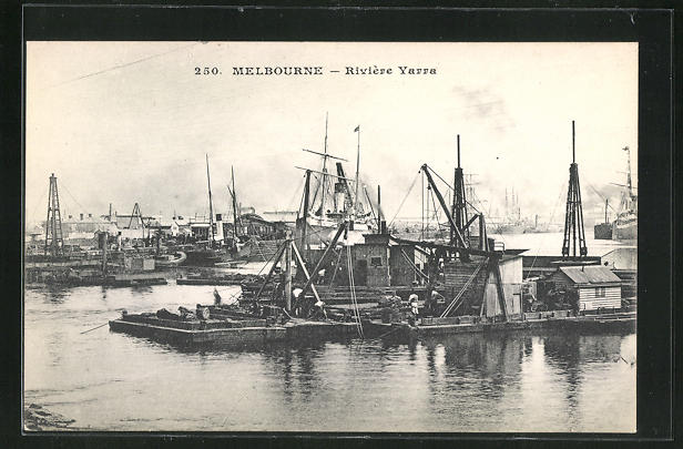 AK Melbourne, Rivière Yarra, Hafenpartie 0