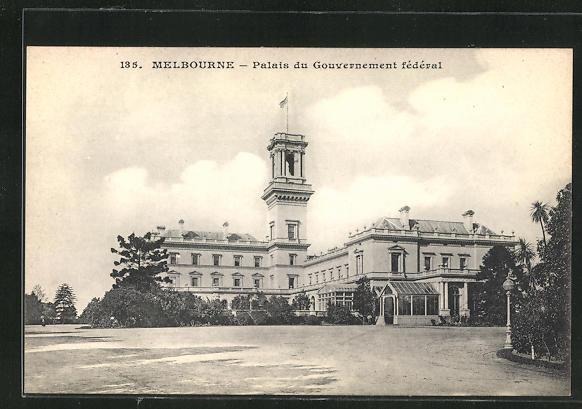 AK Melbourne, Palais du Gouvernement fédéral 0