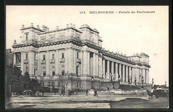 AK Melbourne, Palais du Parlement 0