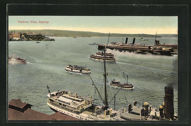 AK Sydney, Harbour View, Dampfschiffe 0