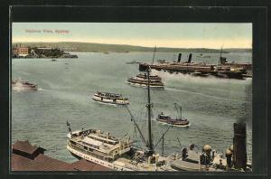 AK Sydney, Harbour View, Dampfschiffe